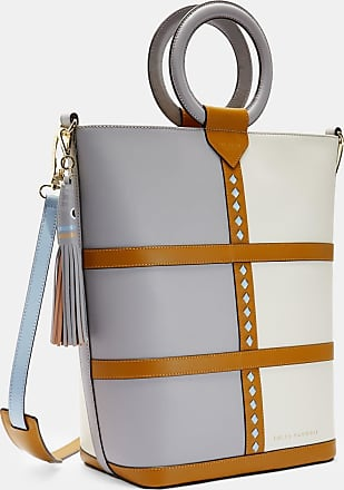 Ted Baker Leather Tote Bag in Grey SPIRITZ, Womens Accessories