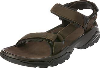 174d6c4f7a931 Teva Terra FI 4 Leather Walking Sandals - 10 Brown
