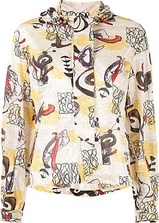 Toga Archives Camisa com estampa gráfica - Branco