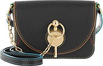 J.W.Anderson Cross Body Bags - Nano Keyts Bag Black - black - Cross Body Bags for ladies