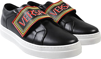 Versace Young 90s Low Top Trainers Black 38