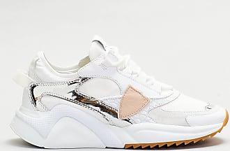 Philippe Model Philippe model - sneaker fondo sport dettagli argento - bianco