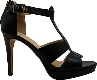 xoxo Womens Belinda Open Toe Casual Ankle Strap Sandals, Black, Size 9.0 US / 7 UK US