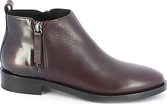 c1cd55a5398dcd Geox Womens Donna Brogue F Ankle Boots Red (Dk Burgundy C7357) 6 UK