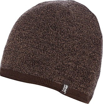 Heat Holders Mens 1 Pack Contrast Thermal Hat One Size Brown