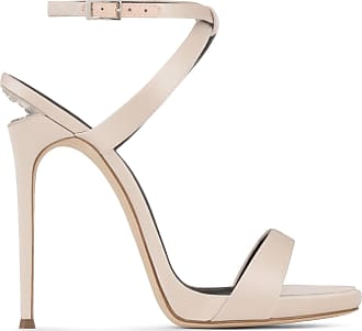 Giuseppe Zanotti Satin sandal with crystals and sculpted heel DIONNE 12
