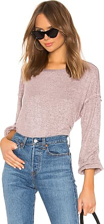 Splendid Addison Jersey Top in Pink