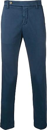 Entre Amis Calça de alfaiataria slim - Azul