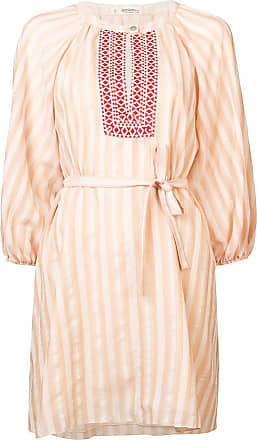 Lemlem Vestido Nefasi com amarração - Rosa