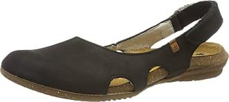 El Naturalista Womens Wakatua Closed Toe Sandals, Black, 3 UK