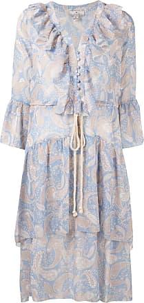 We Are Kindred Amalfi paisley-print dress - Blue