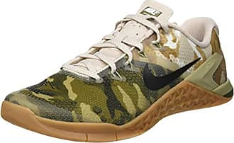 Nike 4 Homme Brown Basses Gum Sneakers 5 001 Metcon Med White 42 EU Canvas Olive Multicolore Irnq5IR