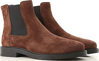 5e626fe54d720 Tod's Chelsea Boots for Women On Sale, Brown, Suede leather, 2017, 5