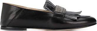 Fabiana Filippi fringed loafers - Black