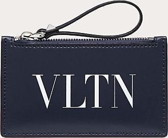 Valentino Garavani Valentino Garavani Uomo Portacarte Vltn Uomo Blu Bovine Leather 100% OneSize