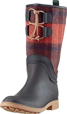 kamik Womens Abigail Wellington Boots, Red (Plaid Pla), 8 UK