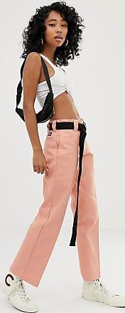 Dickies straight leg chino work pants-Pink
