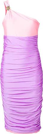 FAUSTO PUGLISI Vestido color block - Rosa