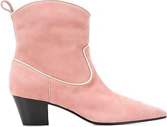 L'autre Chose Ankle boot com salto 55mm - Rosa
