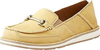 Ariat Ariat Womens Bit Cruiser Slip-on Shoe, Sunshine, 5.5 B US