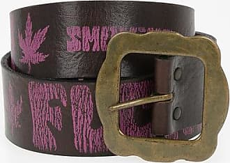 Dsquared2 40 mm Leather Vintage Effect with Print Belt size L