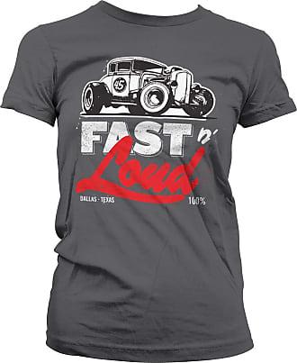 Gas Monkey Garage Officially Licensed Fast N Loud Hot Rod T-Shirt (Dark Grey), XXL