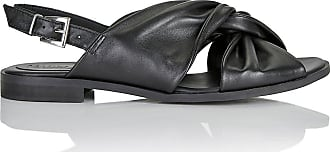Madeleine Ledersandalette in schwarz MADELEINE Gr 36 für Damen. Synthetik