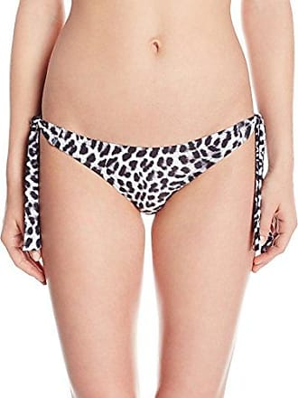 Vince Camuto Womens Bikini Bottom Side Tie Swimsuit, Animal Print, X-Small