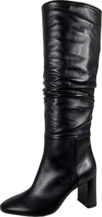 L'autre Chose F20 Stivali Donna Black Leather Boots Woman [35]