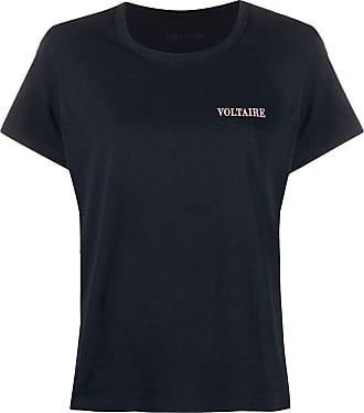 Zadig & Voltaire chest logo T-shirt - Blue
