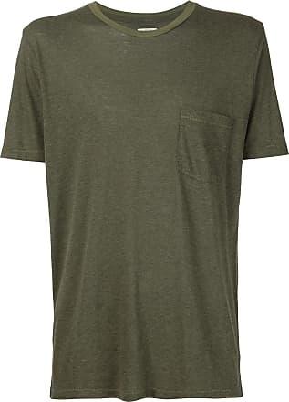 321 Camiseta com bolso no busto - Verde