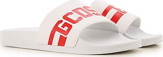GCDS Sandals for Men On Sale, White, Rubber, 2019, 6.5 7 8 9 9.5