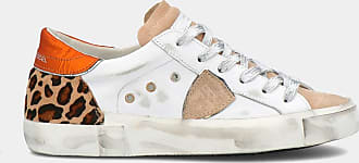 Philippe Model Sneakers - Prsx Veau Leo - Blanc