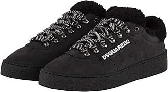 Dsquared2 Herrenschuhe Herren Leder Schuhe Sneakers Santa