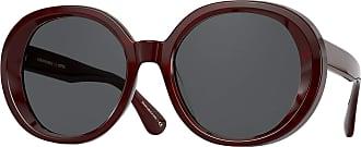 Oliver Peoples LEIDY OV 5426SU BURGUNDY BARK/GREY 56/20/145 women Sunglasses