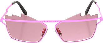 Philipp Plein Logo Sunglasses Womens Pink