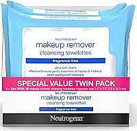 Neutrogena Fragrance-Free Wipes Twin Pack