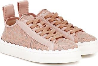 Chloé Exklusiv bei Mytheresa - Sneakers Lauren aus Spitze