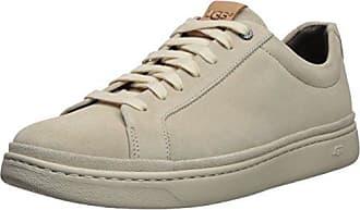 UGG Mens Cali Lace Low Sneaker, White Cap, 11.5 M US