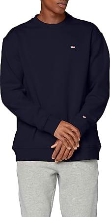 Tommy Jeans Mens TJM Tommy Classics Crew Sweatshirt, Blue (Black Iris Cbk), Medium (Size:M)