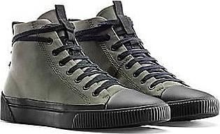 HUGO BOSS Hightop Nylon-Sneakers mit Reversed-Logo