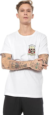 Ed Hardy Camiseta Ed Hardy Death or Glory Branca