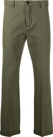 Department 5 Calça chino com prega - Verde