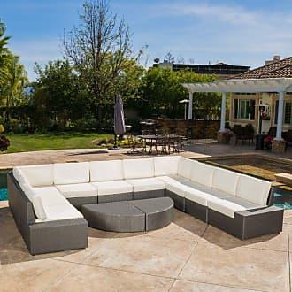 BEST SELLING HOME Outdoor Payton 12 Piece Patio Conversation Set - 298179