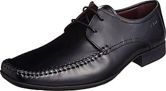Clarks Ferro Walk Mens Formal Moccasin Shoes 7.5 UK G Black