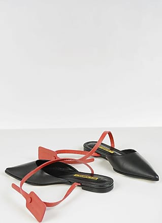 Off-white Mules ZIP TIE SLIPPER in Pelle taglia 35