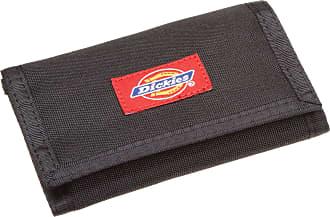 Dickies MensNylon Trifold Wallet Wallet - Black - One Size