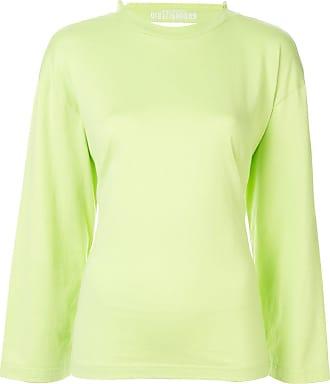 Ground-Zero Blusa de jersey com franzido - Verde