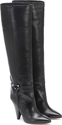 Isabel Marant Pritt Boots Leather Black in zwart | fashionette