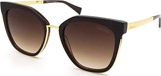Ana Hickmann Óculos de Sol Hickmann HI9079 E01 Marrom/Dourado Degrade